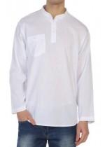 Şile Bezi Gömlek (Beyaz)