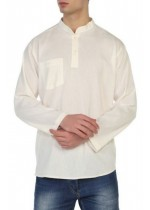 Şile Bezi Gömlek (Krem)