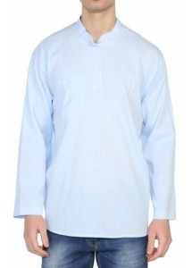 Şile Bezi Gömlek (A.Mavi)